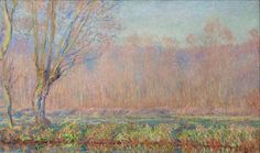 The Willows (2), 1885 de Claude Monet (1840-1926, France)