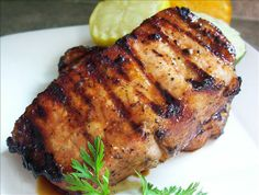Citrus Marinated Pork Chops (Try with chicken) Freezes well for later!