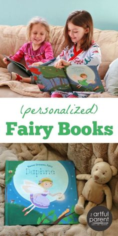 Personalized Fairy Books for Kids