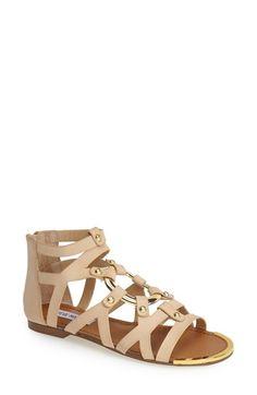 Steve Madden 'Cirrcle' Studded Gladiator Sandal (Women) available at #Nordstrom