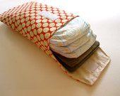 diaper clutch, diaper wallet, ecofriend diaper