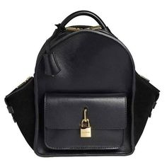 Buscemi Mini Aero Leather Backpack | From a collection of rare vintage backpacks at https://www.1stdibs.com/fashion/handbags-purses-bags/backpacks/
