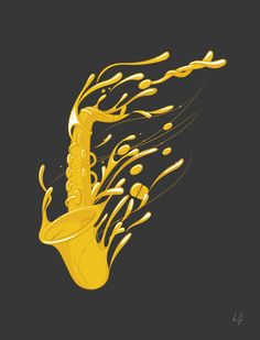 I love saxophone Abstract Poster Print Arte Jazz, Jazz Art, Saxophone Instrument, Saxophone Tattoo, Sax Man, Jazz Poster, Music Illustration, Music Images, Poster Pictures