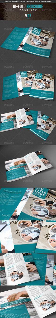 GraphicRiver Corporate Bi-Fold Brochure V-07