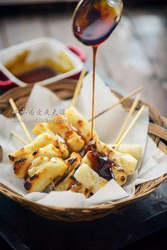 Korean Rice Cake, Korean Sweets, Korean Dessert, Korean Food, Rice Cake Recipes, Rice Cakes, Spicy Recipes, Asian Recipes, Cooking Recipes