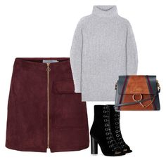 """""""Outfit #606"""" by naleland on Polyvore featuring moda, Barbara Bui, Acne Studios i Chloé"""