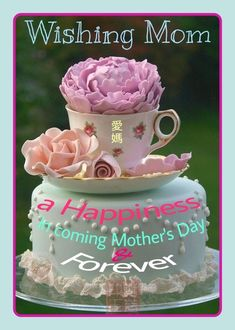 Mothers Day Quotes, Quote Of The Day, Birthday Cake, Happy, Desserts, Tailgate Desserts, Deserts, Birthday Cakes, Ser Feliz