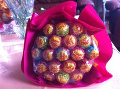 Bouquet of.... ¿flowers? ¿chupa-chups?
