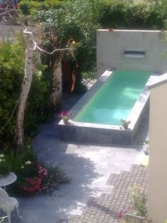 Small pool on pinterest small spa pools and spas - Pools in small spaces set ...