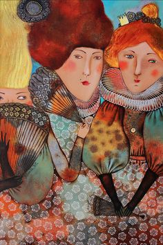ANNA SILIVONCHIK, Young Women, 2012