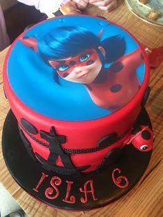 Miraculous lady bug cake