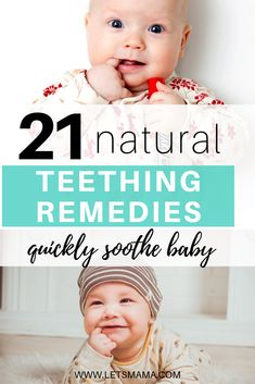 Natural Teething Remedies that Really Work for Baby 21 natural teething remedies to help baby and mom get through teething. These natural teething remedies for baby are safe for baby and very effective to quickly soothe your little one! Natural Teething Remedies, Natural Cures, Natural Health, Herbal Remedies, Health Remedies, Baby Development, Health Matters, Health Education, Health Motivation
