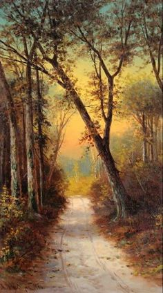 Astley David Middleton Cooper (1856 – 1924) Through the Woods