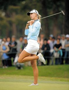Let's face it, golf has always been really a male dominated sport. More and much more, however, women are taking an interest in golfing. Ladies golf has risen Sexy Golf, Golf 1, Girls Golf, Ladies Golf, Lpga Golf, Cute Golf Outfit, Golf Player, Golf Training, Female Athletes