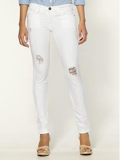 Current/Elliott The Ankle Skinny Jeans | Piperlime