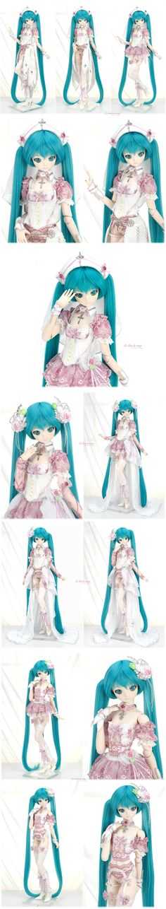 Hatsune Miku Project Diva, Kawaii Doll, Anime Figurines, Anime Dolls, Smart Doll, Doll Repaint, Awesome Anime, Ooak Dolls, Custom Dolls