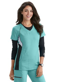 Don't these Greys Anatomy Active scrubs look so comfy?!  #spring #scrubsandbeyond