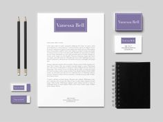 Vanessa Bell is a mortgage broker in Sydney and her brief for me was to create a personal brand identity that would resonate with professional women and that communicated sophistication and service excellence.