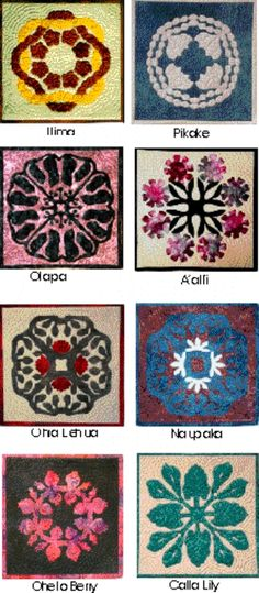 *Raintree of Hawaii: 8 Pillow Patterns by Raintree Hawaii - Hawaiian pillows are miniature quilts.