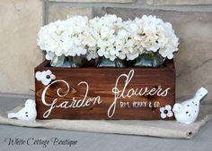 Hand Made Garden Flower Box