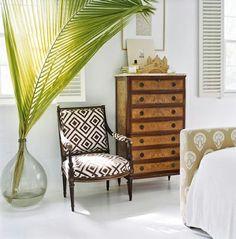 Este verano, como en primavera, los motivos tropicales siguen siendo tendencia en decoración #tendencias #decoracion #verano14