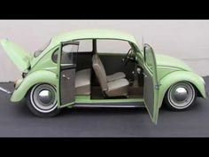 Así pudo ser el Vocho de 4 puertas Volkswagen Sedán - YouTube