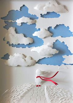 Beautiful Papercut Artworks of Nature by Marina Adamova