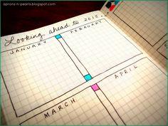 A Peek into my 2014 Planner   Aprons 'n Pearls Bullet journal