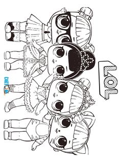 Black Cat Coloring Pages Lol Surprise To Print Free Pic - Coloriage Ladybug Coloring Page, Shopkins Colouring Pages, Unicorn Coloring Pages, Cute Coloring Pages, Coloring Pages For Girls, Coloring Pages To Print, Coloring For Kids, Coloring Books, Frozen Coloring