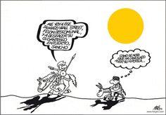 Bajo el sol...