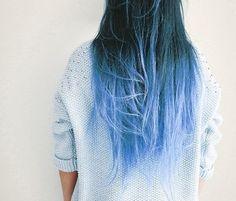 синее омбре на темные волосы: 7 тыс изображений найдено в Яндекс.Картинках