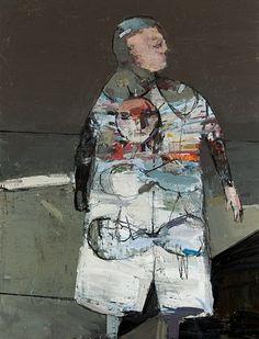 JEAN PIERRE RUEL, Manteau avec soleil 2012, huile sur toile / oil on canvas