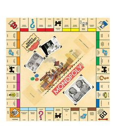 Another great find on #zulily! Tan Custom Happy Birthday Monopoly Board Game #zulilyfinds