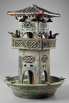 Tomb model of a house han dynasty