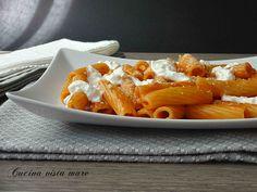 Pasta+con+pomodoro+e+burrata