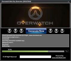 Overwatch Beta Key Generator