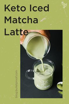 Creamy coconut milk meets earthy matcha tea in this refreshing 2-minute iced matcha latte recipe. Keto- and paleo-friendly.