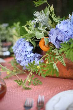 5 Tips for throwing a Garden Party this summer! Fresh summer fruit adds a pop of color