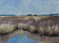 """""""Landscape Challenge... Day 1"""" original fine art by Clair Hartmann"""