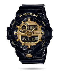 G-Shock Watch - Gold - GA710GB-1ACR