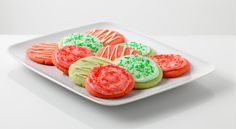 Festive Fruity Cookies - Holidays