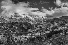 !!!!!!!!!!!!!!!!!!!! Mountain Village, Mountain Range, Greek Islands, Regional, Greece, The Unit, Clouds, Greek Isles, Greece Country