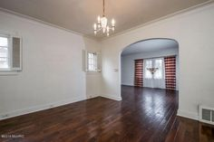 Lovely living room #fireplace #hardwoods #crownmolding  MLS: 15062916