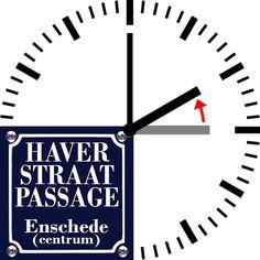 ZONDAG WINTERTIJD Zondag 30 oktober 2016 gaat de WINTERTIJD weer in. In de nacht van zaterdag op zondag, om drie uur, worden de klokken weer een uur teruggezet en maakt de zomertijd plaats voor de wintertijd.   #Haverstraatpassage #Enschede (centrum).