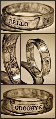 The Séance - resin bangle                                                                                                                                                                                 More