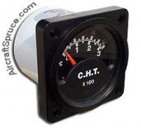 MICRO 1000 CHT GAUGES 2-1/4 from Aircraft Spruce