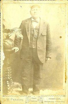 Edward Penn - Osage - circa 1895