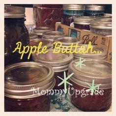 Easy Recipe for Crock Pot Apple Butter - no peeling apples! Yay!