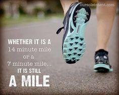 it's still a mile