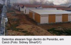 Folha certa : Presos se rebelaram no presídio em Caicó